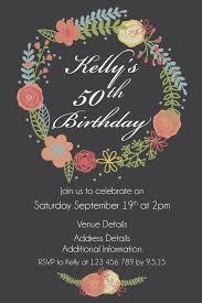 birthday invites astonishing 50th birthday invitation template design for additional birthday party invitations surprising