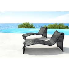 rococo modern outdoor chaise lounge  eurway furniture