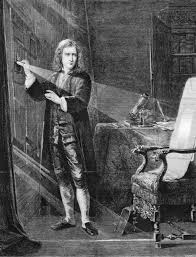 sir isaac newton dispersing sunlight through a prism for a study sir isaac newton dispersing sunlight through a prism for a study of optics engraving after