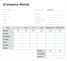 excel templates for timesheets daily timesheet excel template bad1 club
