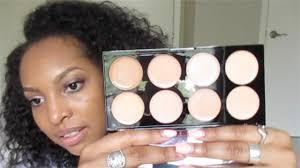 makeup revolution concealer palette initial review