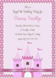 Princess Party Birthday Invitations Google Search Chloes