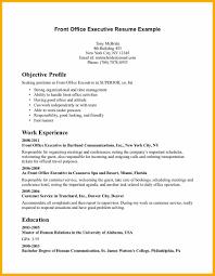 Resume For Front Desk Supervisor Hotels Contegri Com