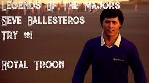 ea sports tiger woods pga tour 14 legends of the majors seve ballesteros