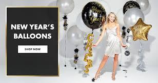 slide balloons new years