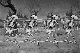 Image result for dancing skeleton
