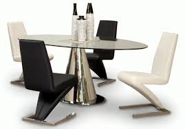 Oval Glass Dining Room Table Set  The Best Inspiration For - Black oval dining room table
