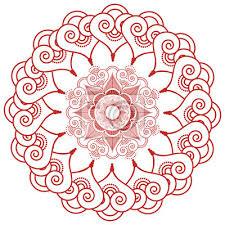 Fototapeta Asijská Kultura Inspiroval Svatební Make Up Mandala Henna Tetování