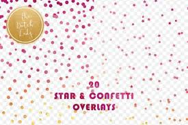 Google fonts integration with hundreds of free fonts. Star Confetti Overlay Clipart Graphic By Daphnepopuliers Creative Fabrica Overlays Clip Art Star Overlays