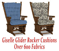 cushion for glider rocking chair replacement cushions for bestchairs glide rocker chair pads home decoration ideas