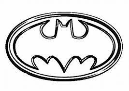 Small Picture Batman Symbol Coloring Page Batman Logo Coloring Pages Coloring