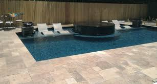 noce travertine pool coping and paving tiles