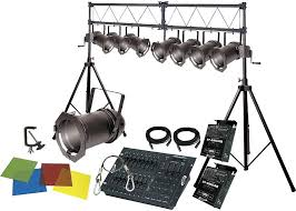 band dj lighting and stage effects buying guide the hub stage lighting system 2