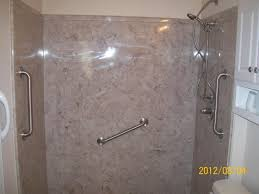 cultured marble shower walls vs tile pan home ideas collection 47