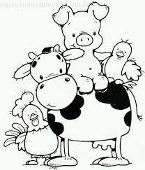 O Mcdonalds Had A Farm Kids Coloring Arts Farm Animal Coloring