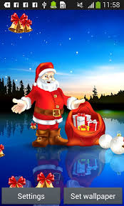 Santa Claus Live Wallpapers