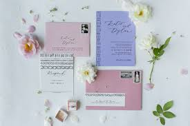 Pastel Mudcloth Inspired Wedding Invitations By