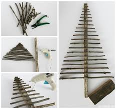 An Over The Edge Christmas Series Final Edition  Wooden Wooden Branch Christmas Tree