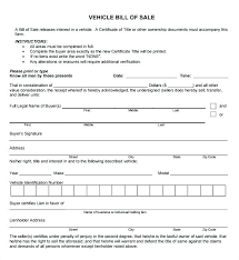 Auto Bill Of Sale Best Blank Real Estate Form Template Images On ...