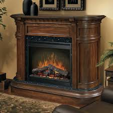 full image for 62 grand cherry scroll electric fireplace sop inch with burnished walnut white
