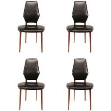 set of four dining chairs by vestergaard jensen