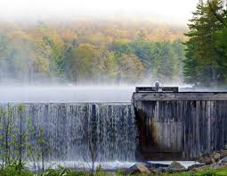Bear Creek Landscapes Design Misty Morning At The Bear Creek Dam In The Poconos