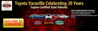 Toyota Dealership near Vacaville, Davis, Fairfield, Sacramento ...