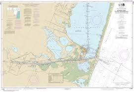 Noaa Intracoastal Waterway Charts 11302 Intracoastal Waterway Stover Point To Port Brownsville Including Brazos Santiago Pass