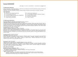 9 Medical Lab Tech Resume Skillsbased