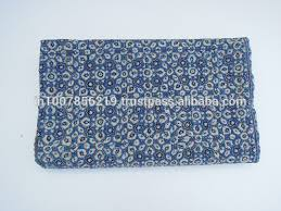 List Manufacturers of Quilted Throws Wholesale, Buy Quilted Throws ... & Handmade Indigo Hand Block Printed Kantha Quilt Throw Organic Vegetable  Ajrakh Prints Bedspreads Bed Cover Blanket Adamdwight.com