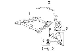 parts com� honda cr v suspension components oem parts 2005 Honda CR-V Engine Air Intake Diagram 2005 honda cr v lx l4 2 4 liter gas suspension components