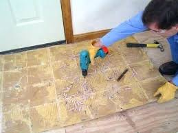 vinyl floor removal removing old linoleum or vinyl floors flooring sheet with asbestos existing floor covering