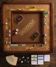 Wooden Monopoly Board Game Winning Solutions Monopoly Luxury Edition with Wooden Game Board 14