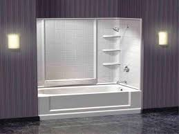 bathtub shower kit design ideas