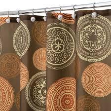 Uncategorized Burnt Orange Shower Curtain In Trendy Curtain 32