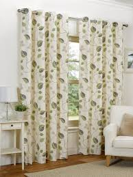 hamilton mcbride april eyelet lined green curtains 90x90 inches 229x229cm