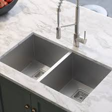Pax 315 X 185 Double Basin Undermount Kitchen Sink Reviews