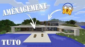 amenagement de ma maison de luxe sur minecraft ps4