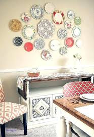 hanging plates on wall decorative