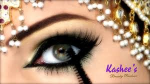 beautiful eye makeup by kashee