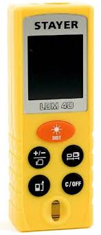 Лазерный <b>дальномер STAYER LDM-40</b> [<b>34956</b>]