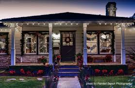Front Porch Lighting Ideas Christmas Lights On A California Bungalow Photos This Page By Painted Bench Photography Front Porch Lighting Ideas D