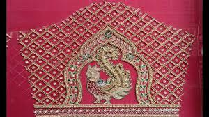 Aari Design Book Latest Aari Embroidery Work Blouse Sleeve Designs Maggam Work Blouse Sleeve Design For Pattu Saree
