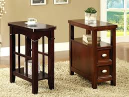 small accent table with drawer furniture end table cabinet small table with shelves skinny coffee table