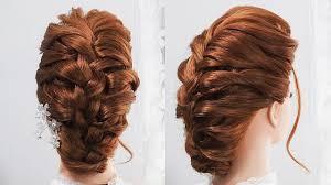 前髪ポンパドールの髪型ロングの三つ編み込みヘアスタイル Youtube