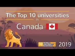 Canadian City Distance Chart Study In Canada Top Universities Cities Rankings Fees