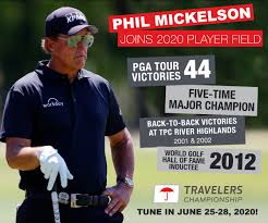 Keep up with all the news, scores and highlights. Phil Mickelson Commits To 2020 Travelers Championship New England Dot Golf