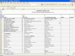 Wedding Checklist Excel Download Download A Free Wedding Budget Worksheet And Wedding Budget