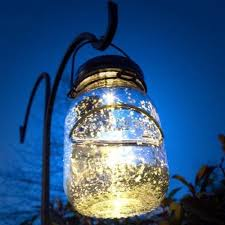 malibu solar mason jar led lamp glass firefly jars that light up the garden or patio for hours ambiant lighting when hanging around the home and great