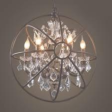 unique crystal globe chandelier popular crystal globe chandelier for crystal globe chandelier gallery 10